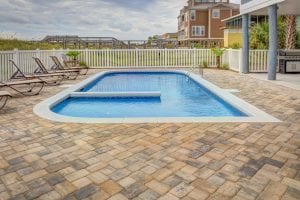 Seal the pavers on your pool patio
