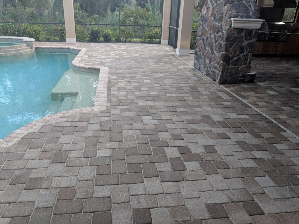 Total Shield Service - Pool Pavers