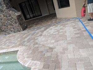 Paver Stone Pool Patio Sealer