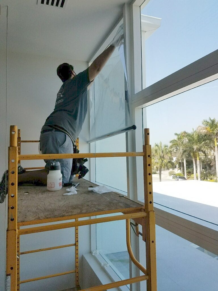 Commercial Window film installations