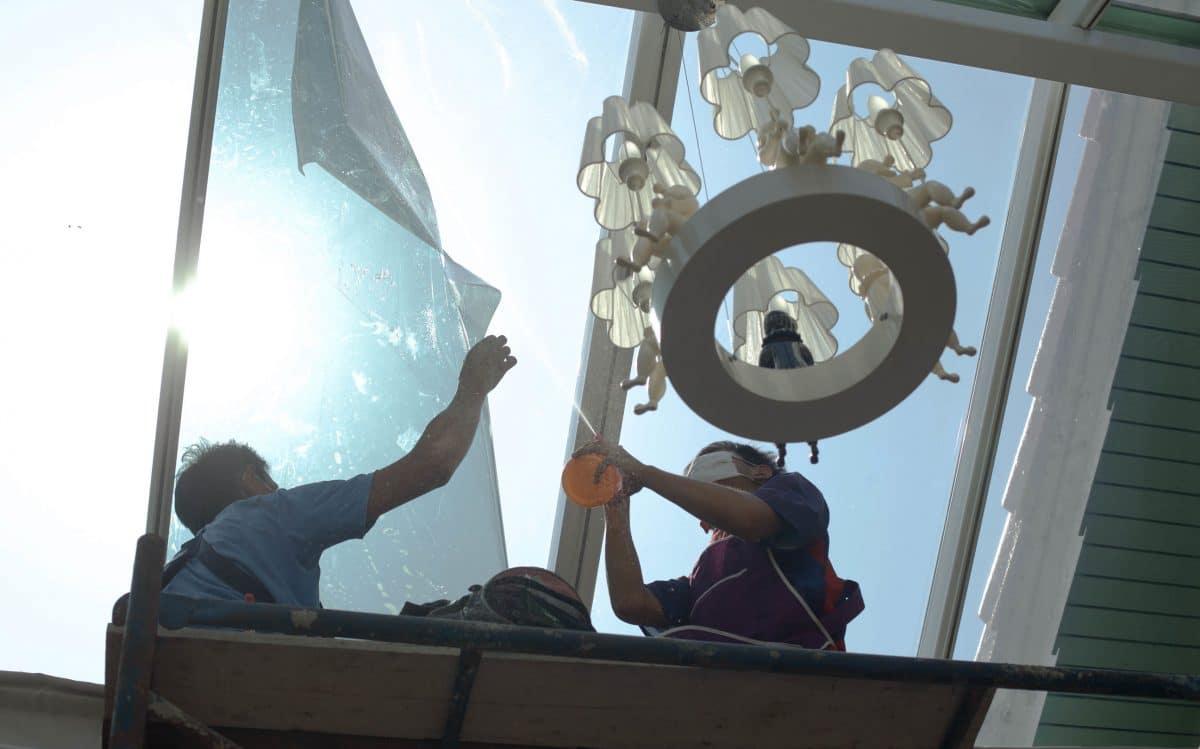 Window film installations
