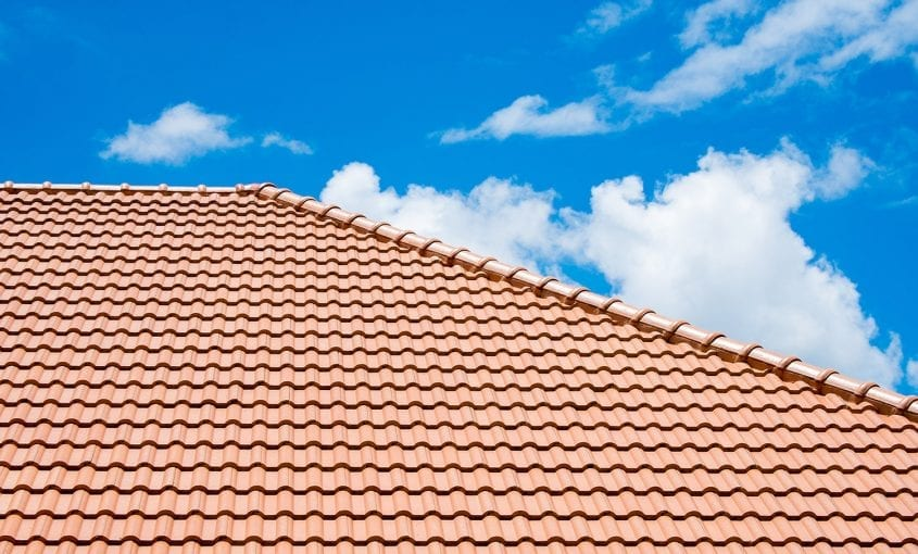 concrete tile roof sealing