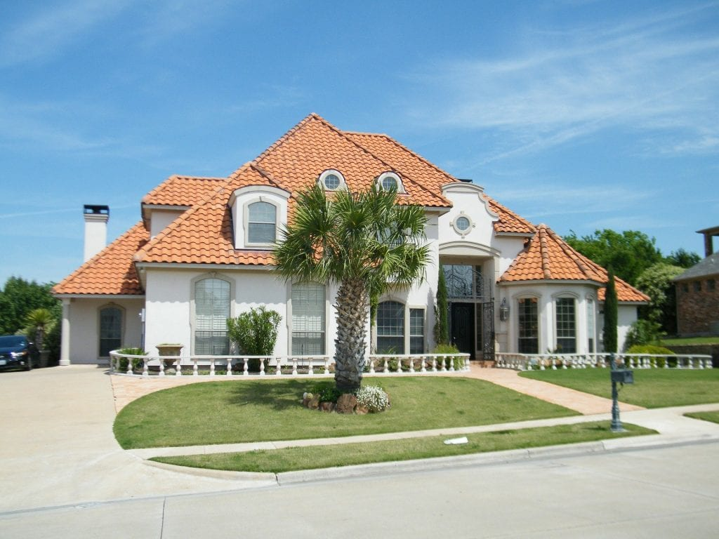 Florida Home with Tile Roof